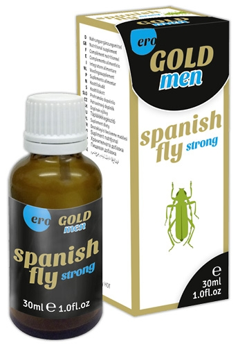 Spain Fly men GOLD strong 30 ml - Farbe: transparent - Menge: 30ml