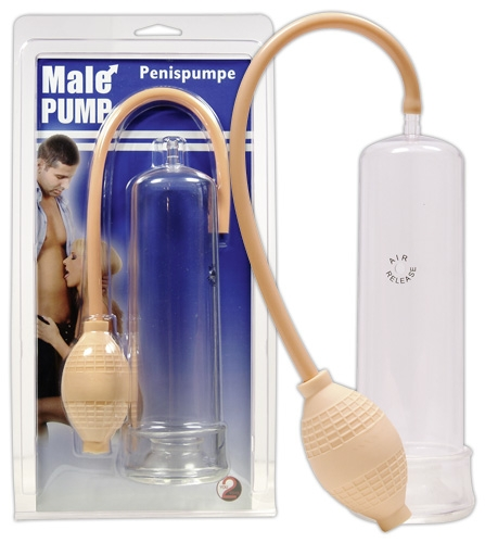Male Pump - Farbe: transparent