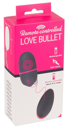 You2Toys Remote Controlled Love Bullet - Farbe: lila