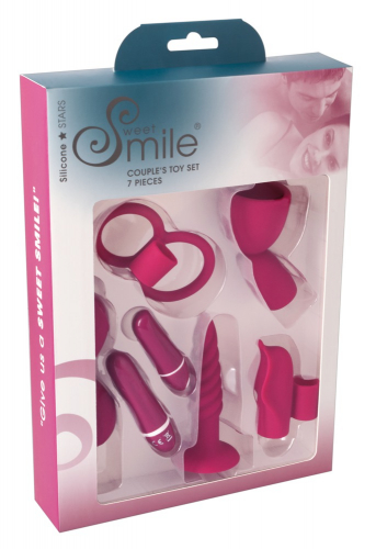 Sweet Smile Couple´s Toy Set - Farbe: rot