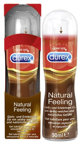 Durex Natural Feeling - Farbe: transparent - Aroma: ohne - Menge: 50ml