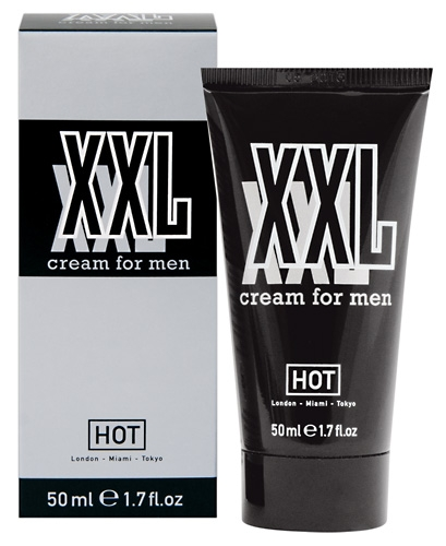 HOT XXL Cream for men - Aroma: ohne, Eigengeruch - Menge: 50ml