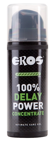 Eros Delay 100% Power Concentrate - Farbe: transparent - Aroma: ohne, Eigengeruch - Menge: 30ml