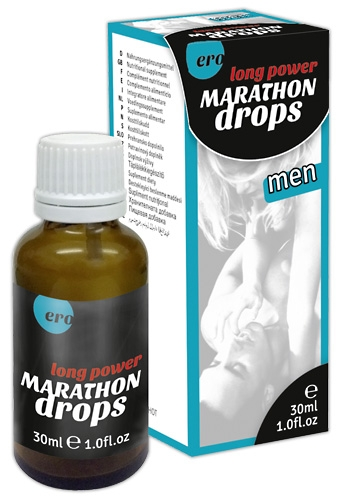 Marathon men Long P. Drops - Farbe: transparent - Menge: 30ml