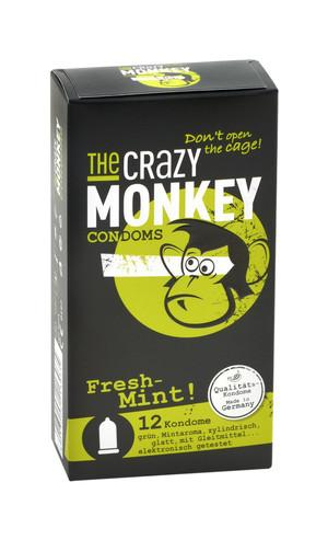 Crazy Monkey Fresh Mint 12er