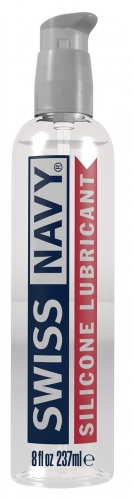 Swiss Navy Silicone Lubricant 8oz (236ml)