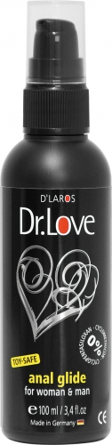 Dr. Love Anal Silikon Gleitgel for woman & man 100ml - Farbe: Silikon basierend
