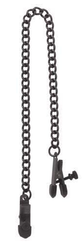 Spartacus Nipple Clamps Black Line - Farbe: Schwarz